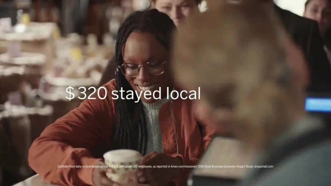 American Express TV Commercial Ad Small Business Saturday Support Local Coffee Shops.mp4