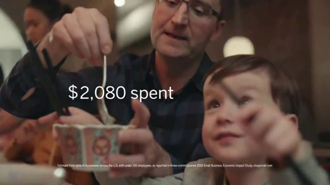 American Express TV Commercial Ad Small Business Saturday Support Local Restaurants.mp4