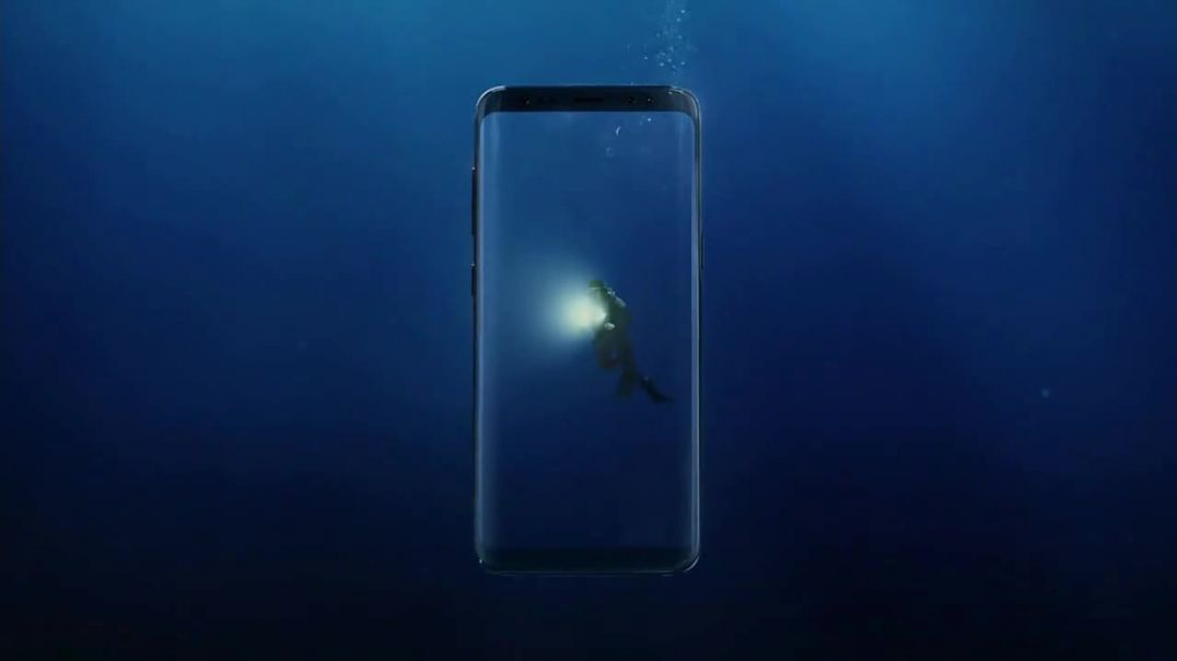 Samsung Galaxy S8 TV Commercial Ad Unbox Your Phone Diver.mp4