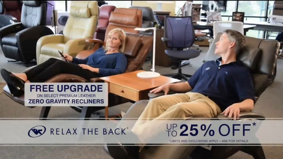 Relax the Back Black Friday Savings TV Commercial Ad Mattress Sets & Massage Chairs.mp4