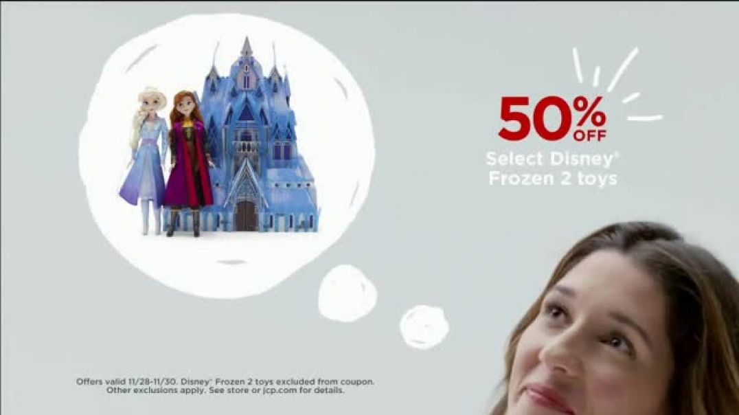 JCPenney Black Friday Forever TV Commercial Ad Jackets, Towels and Frozen 2 Toys.mp4