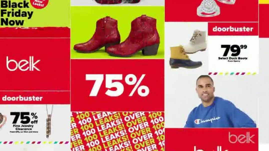 Belk PreThanksgiving Sale TV Commercial Ad Boots, Jewelry and Gift Card.mp4