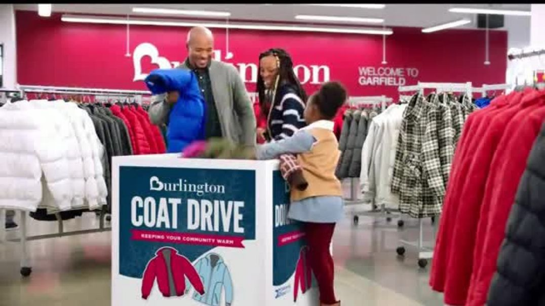 Burlington TV Commercial Ad Make a Difference in Someone's Life Donate a Coat Today.mp4