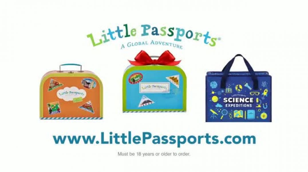 Little Passports TV Commercial Ad Holidays Inspire Curiosity.mp4