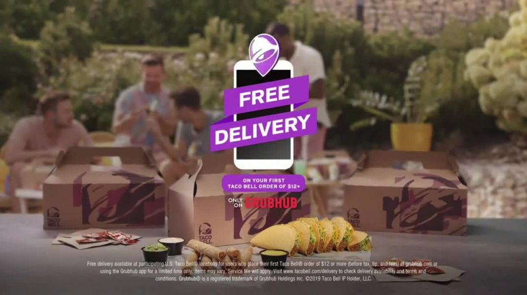 Taco Bell Rolled Chicken Tacos Party Packs TV Commercial Ad Pool Party.mp4