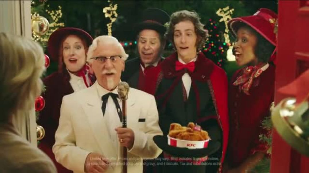 Kfc Commercial Latest Christmas Carolers 2020 KFC $20 Fill Up TV Commercial Ad Holidays Carolers