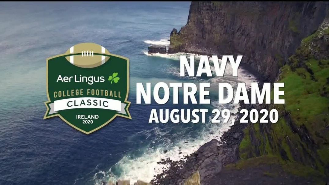 Aer Lingus TV Commercial Ad College Football Classic Navy vs. Notre Dame Commercial.mp4