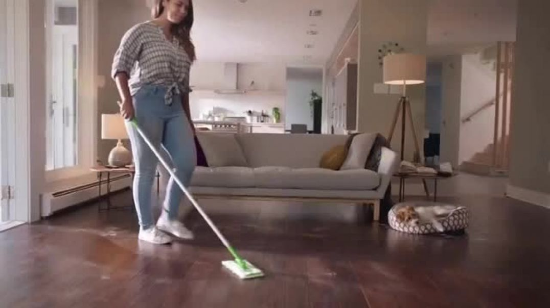 Swiffer Sweeper Heavy Duty TV Commercial Ad Mias Cleaning Confession.mp4