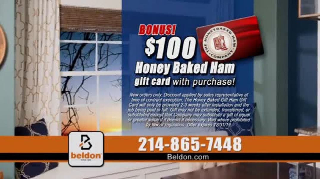 Beldon Windows Buy More, Save More Sale TV Commercial Ad Integrity Is Our Family Business Honey Bake