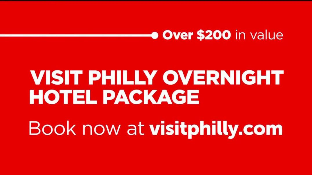 Visit Philadelphia TV Commercial Ad Overnight Hotel Package.mp4
