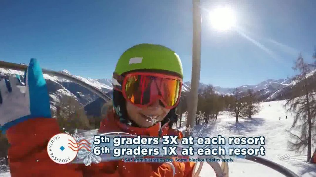 Ski Utah Passport TV Commercial Ad 5th and 6th Graders.mp4