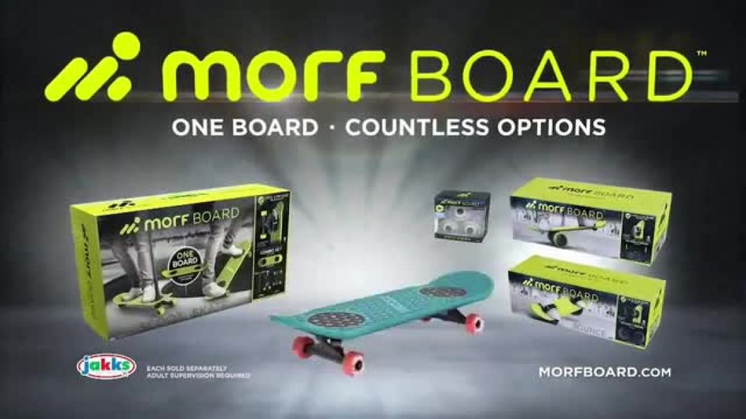 MorfBoard TV Commercial Ad One Board. Countless Options..mp4