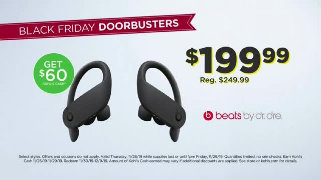 Kohls Black Friday TV Commercial Ad Adds Up Toys and Technology.mp4