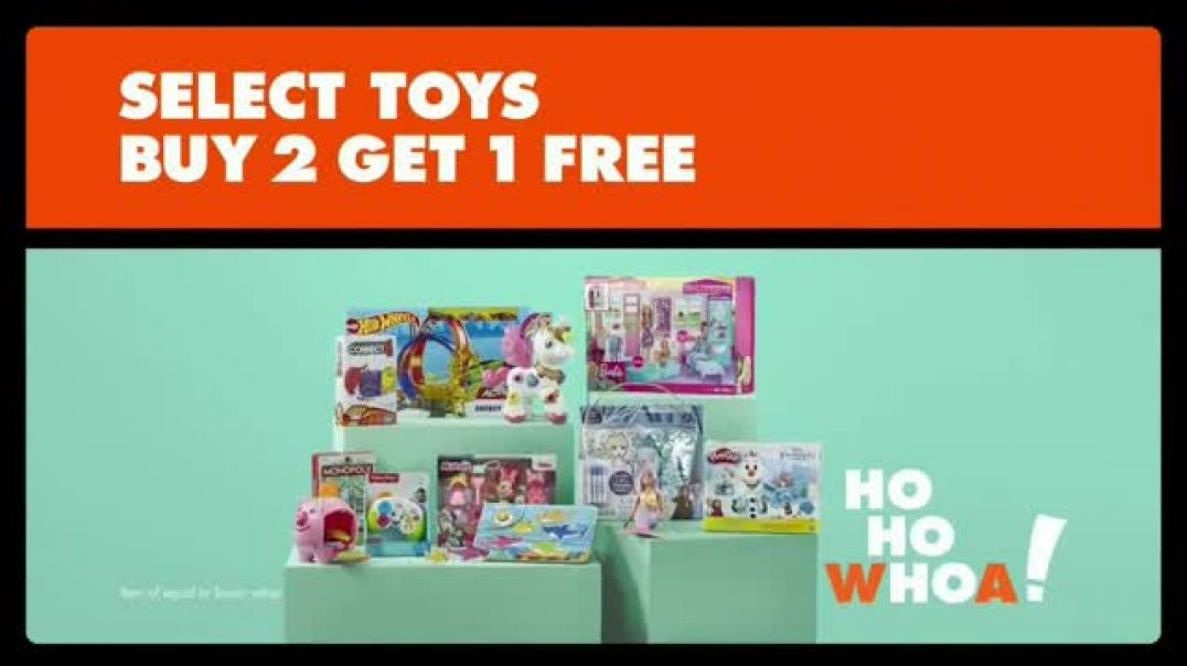 Big Lots Big Black Friday Sale TV Commercial Ad ThreeDay Deals Select Toys Buy One Get One Free.mp4