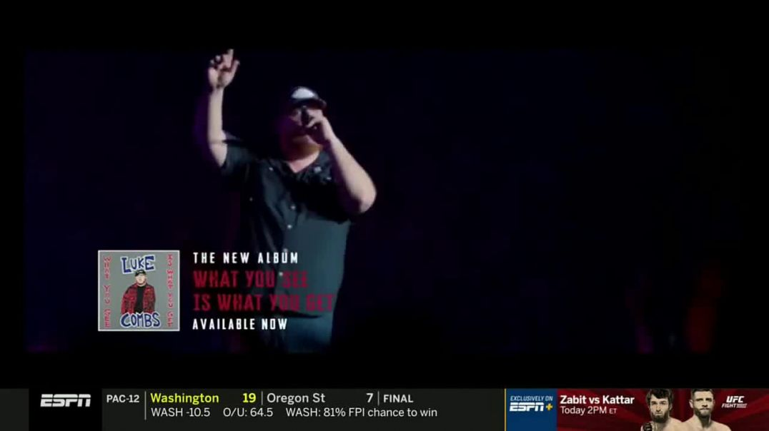 Luke Combs What You See Is What You Get TV Spot.mp4