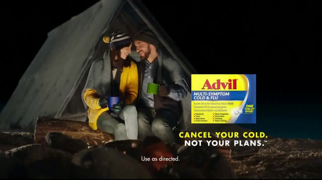 Advil MultiSympton Cold & Flu TV Commercial Ad Cancel Your Cold.mp4