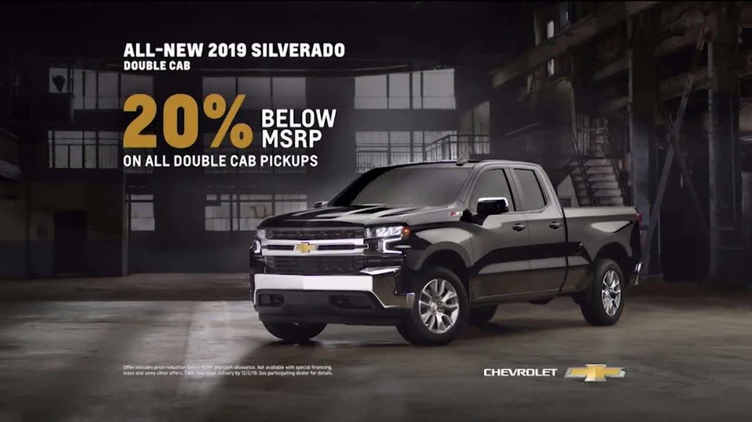 2019 Chevrolet Silverado TV Commercial Ad Behind Us.mp4