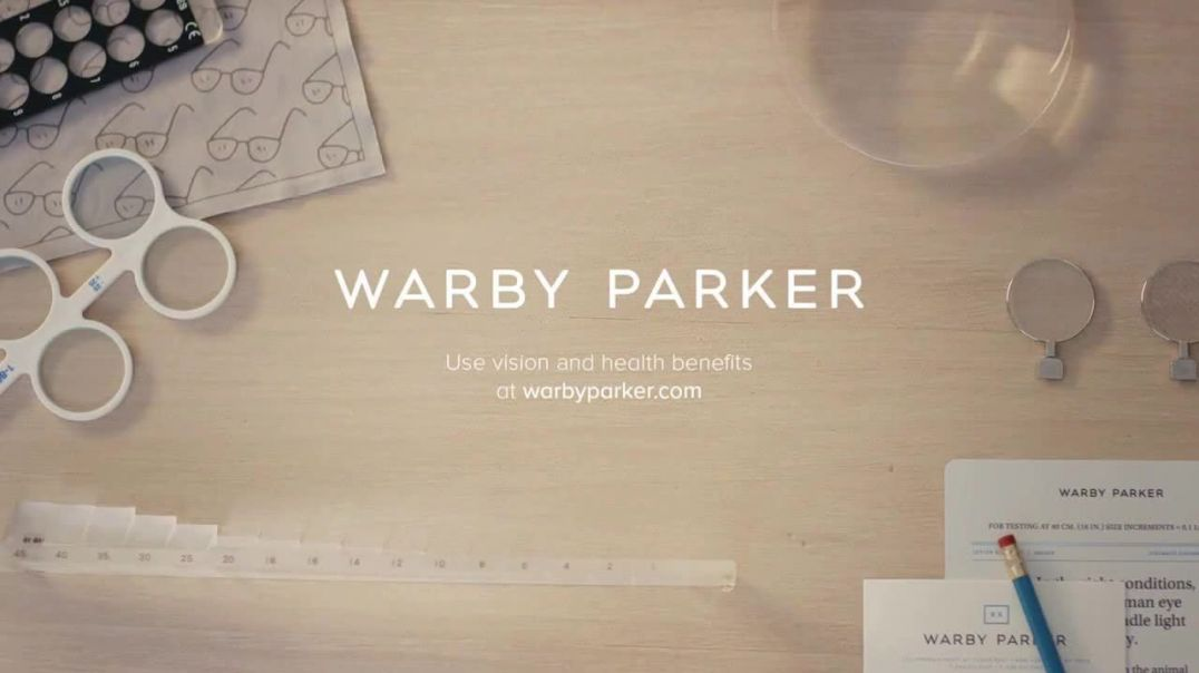 Warby Parker TV Commercial Ad Quick Reminder Vision and Health Benefits.mp4