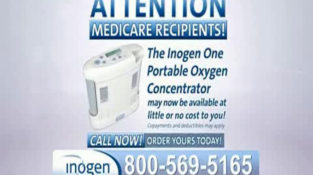 Inogen One TV Commercial Ad Attention Medicare Recipients.mp4