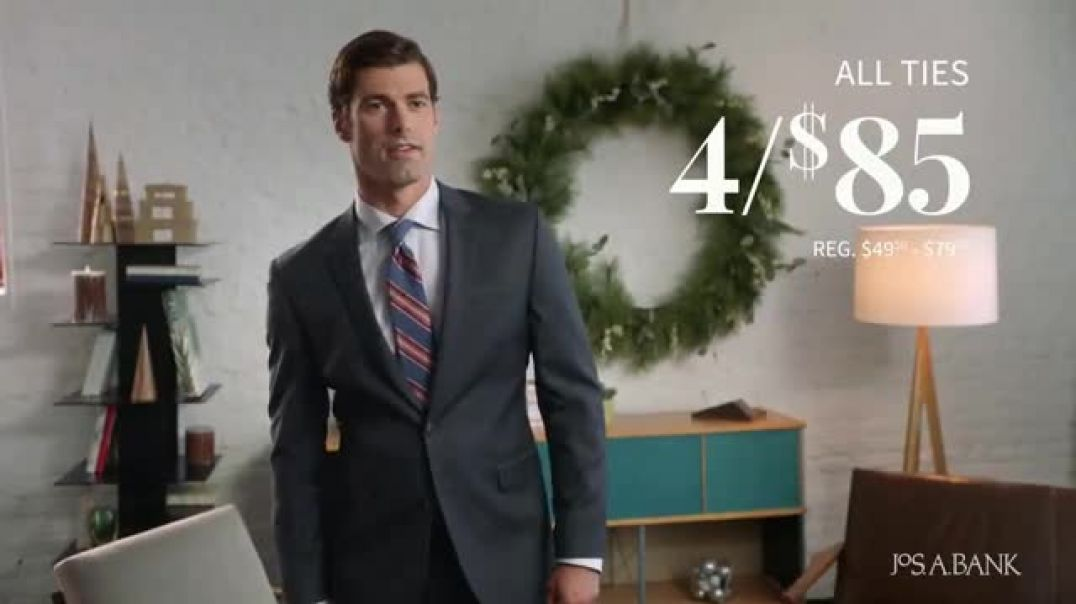 JoS. A. Bank Black Friday Doorbusters TV Commercial Ad Save Up to 80 Percent Shirts, Ties and Suits.