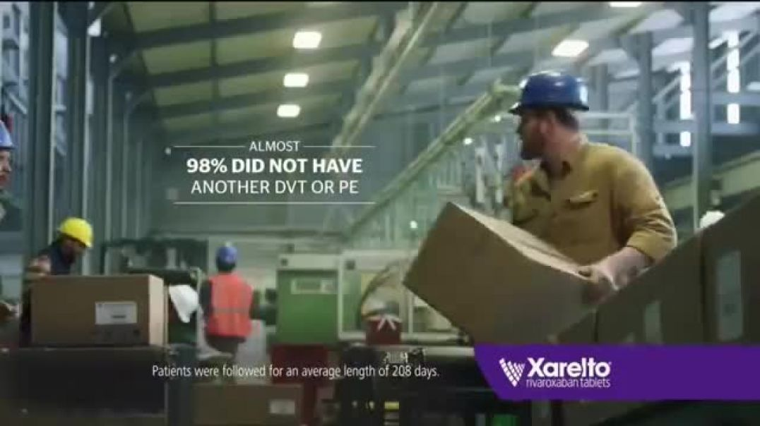 Xarelto Not Today Factory TV Commercial Ad.mp4