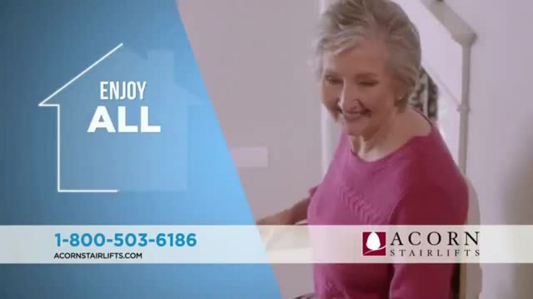 Acorn Stairlifts Love My House TV Commercial Ad.mp4