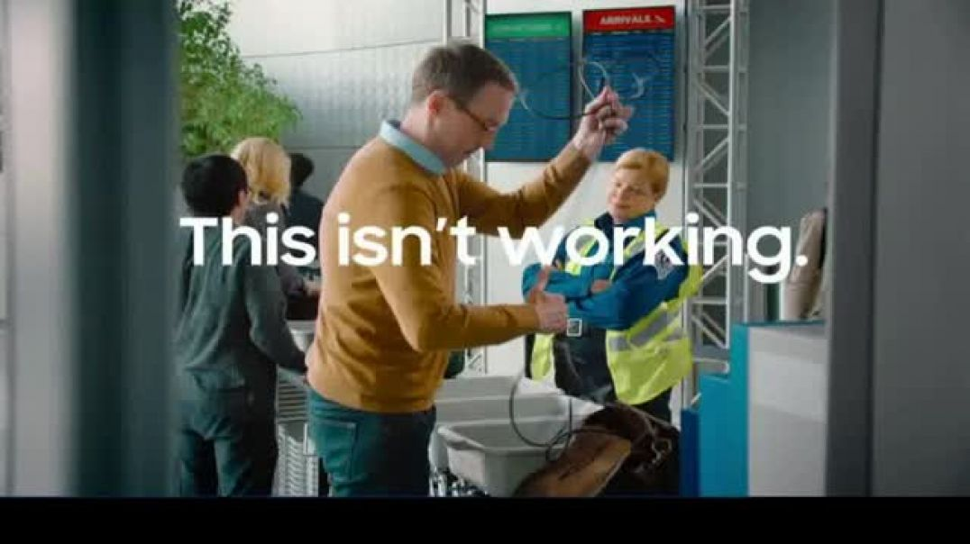 Samsung Galaxy Note10 TV Commercial Ad Mobile Workspace Solutions Airport Security.mp4