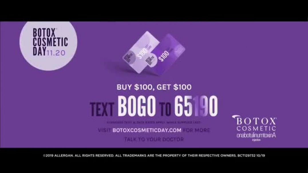 BOTOX Cosmetic Day Own Your Look BOGO TV Commercial Ad.mp4