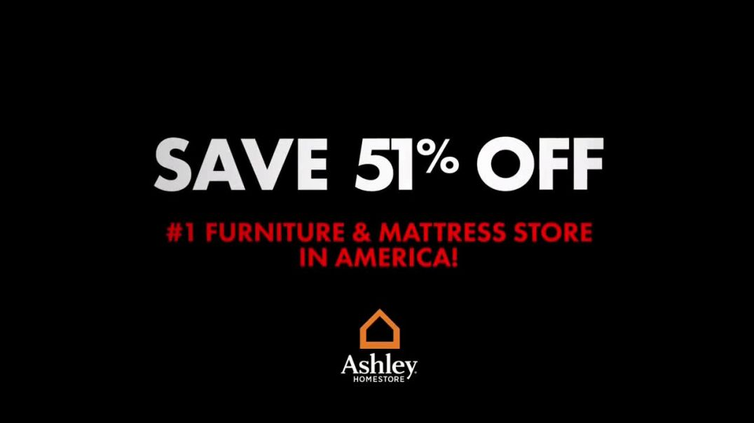 Ashley HomeStore 36Hour Black Friday Extended Sale TV Commercial Ad 51 Percent Off Everything.mp4