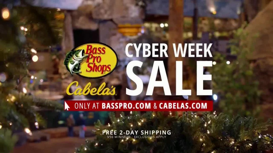 Bass Pro Shops Cyber Week Sale TV Commercial Ad Armchair, Sleeping Pad and Daily Specials.mp4