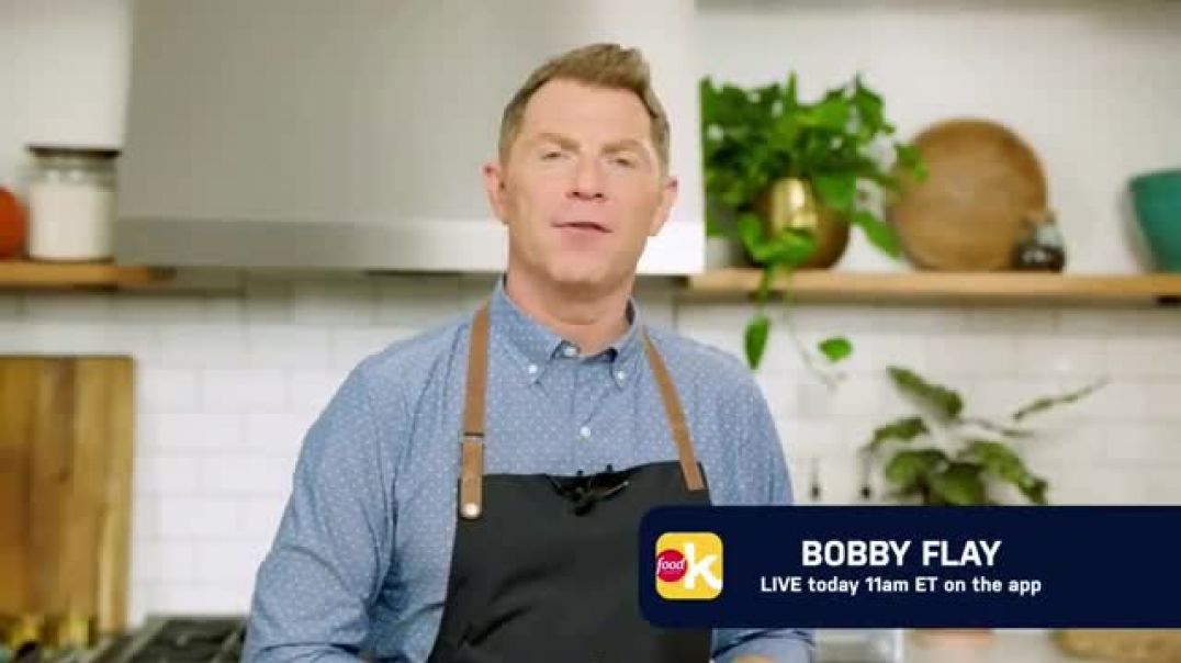 Food Network Kitchen App TV Commercial Ad Bobby Flay Going Live.mp4
