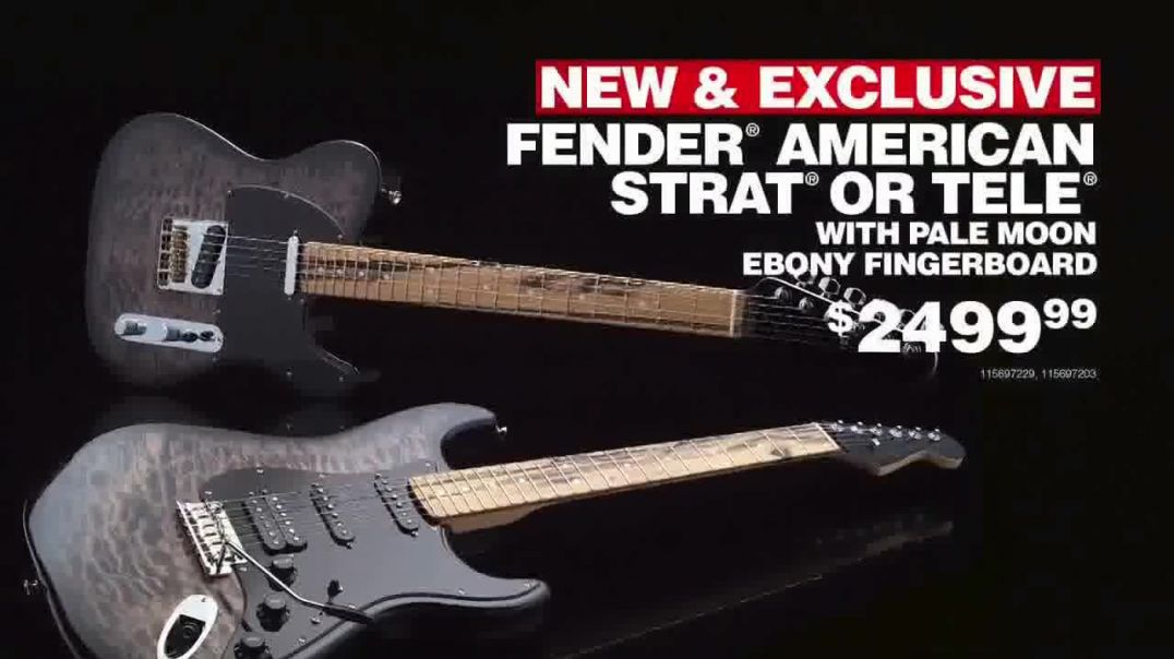 Guitar Center TV Commercial Ad Black Friday Weekend Fender American Strat.mp4