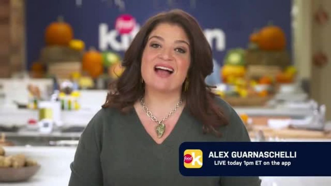 Food Network Kitchen App TV Commercial Ad Alex Goes Live.mp4