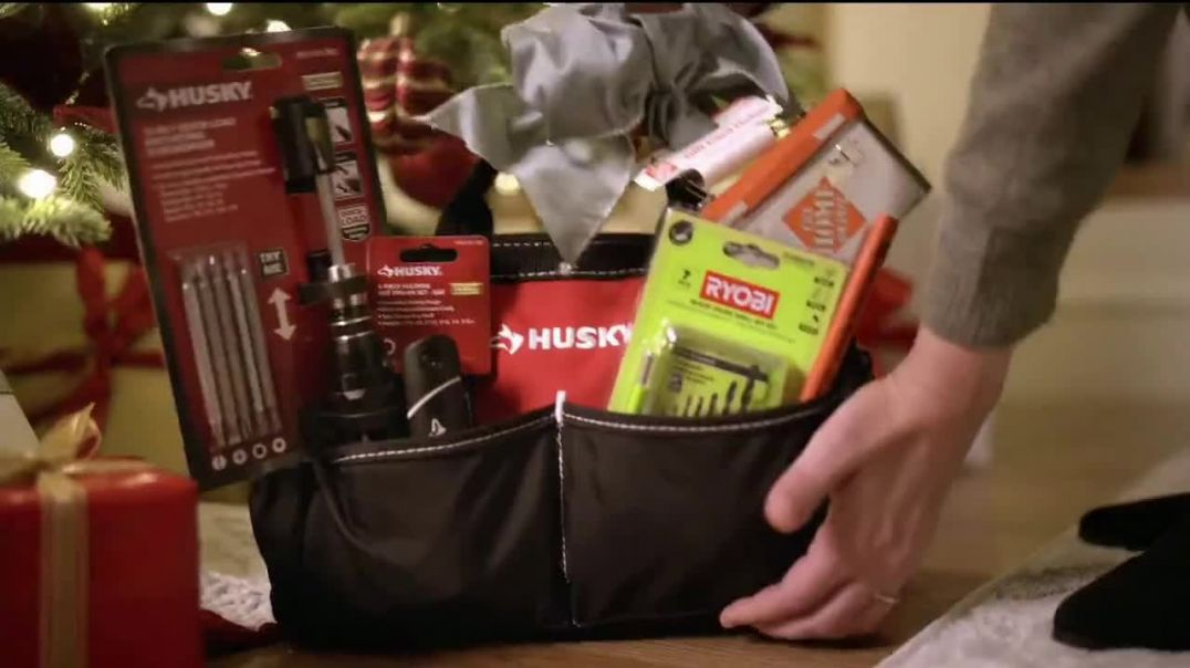 The Home Depot TV Commercial Ad Holidays Are Here Free Delivery.mp4