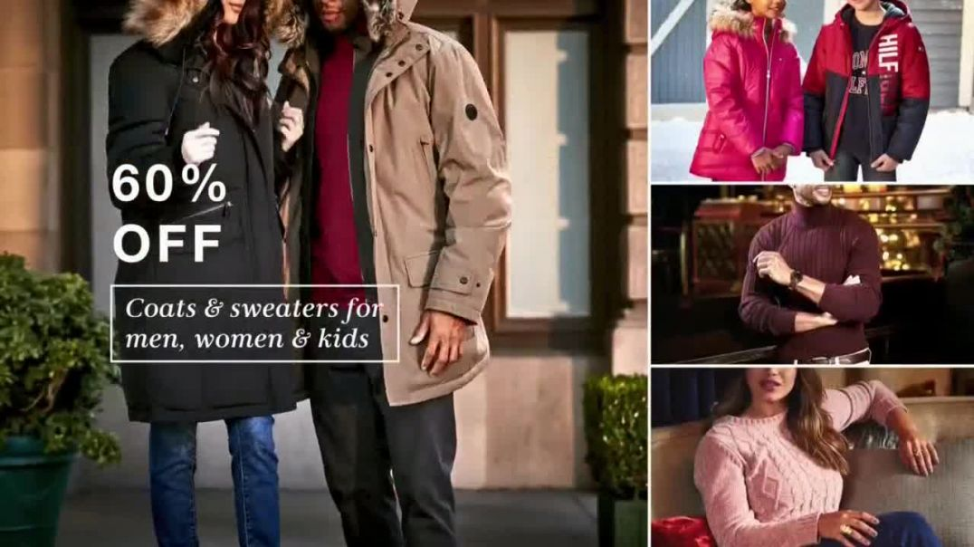 Macys Cyber Monday Specials TV Commercial Ad Coats, Boots and Martha Stewart Collection Bedding.mp4