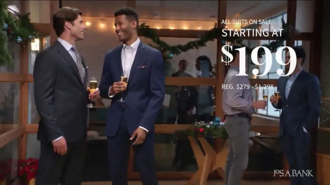 JoS. A. Bank One Day Sale TV Commercial Ad Dress Shirts, Suits & Clearance.mp4