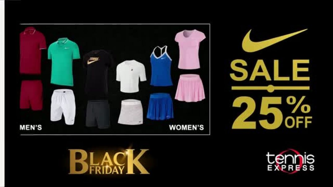 Tennis Express Black Friday Sale TV Commercial Ad Nike Styles for the Entire Family.mp4