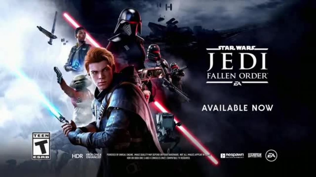 Star Wars Jedi Fallen Order TV Commercial Ad Back in the Clone Wars.mp4