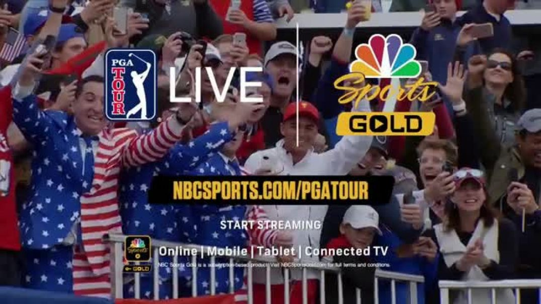NBC Sports Gold PGA Tour Live TV Commercial Ad No Better Way.mp4