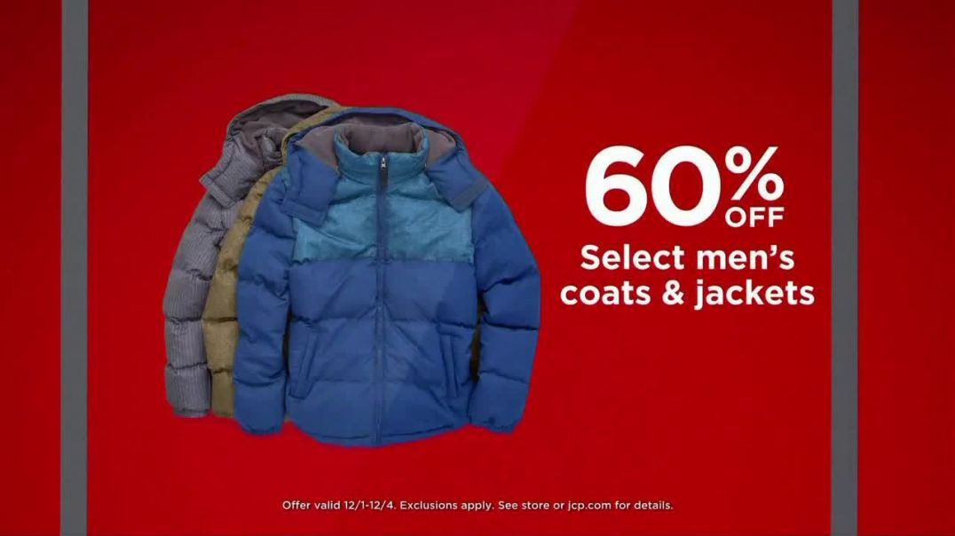 JCPenney Cyber Days TV Commercial Ad Outerwear and Fine Jewelry.mp4
