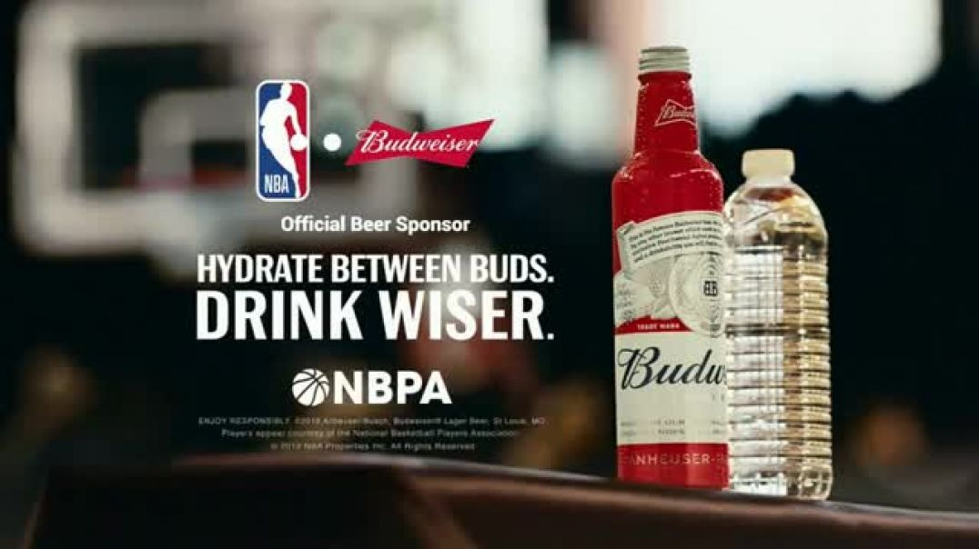 Budweiser TV Commercial Ad Make the Right Call. Drink Wiser Featuring Anthony Anderson, Danny Green.
