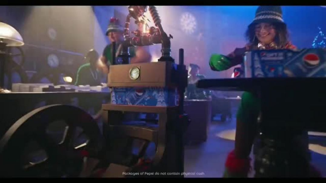 Pepsi TV Commercial Ad Gift It Forward Holiday Gifting Advice Featuring Cardi B.mp4