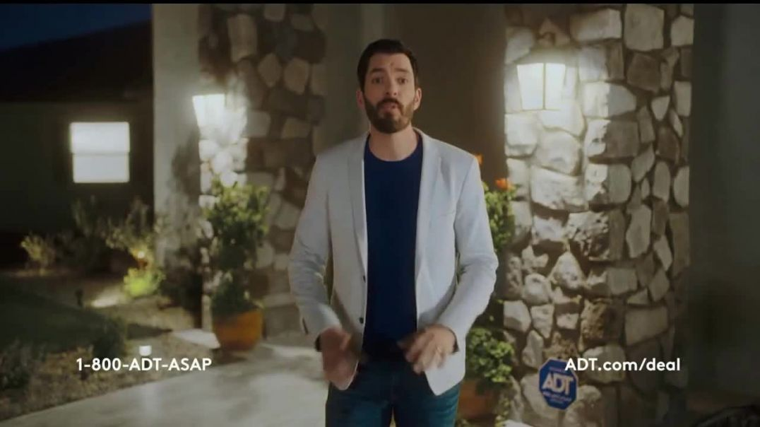 ADT Black Friday Sale TV Commercial Ad Best Offer Ever Featuring Drew Scott, Jonathan Scott.mp4