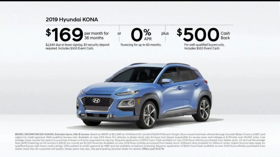 Hyundai Black Friday Sales Event TV Commercial Ad Size of Adventure.mp4
