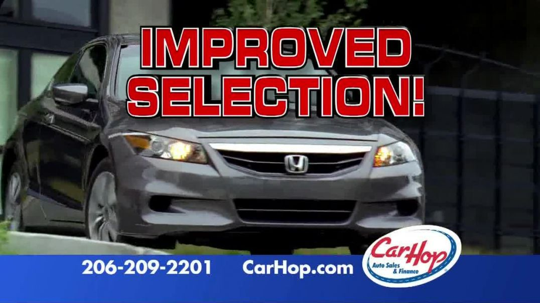 CarHop Auto Sales & Finance TV Commercial Ad Improved Selection.mp4