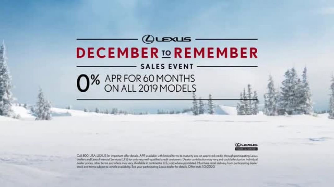 Lexus December To Remember Sales Event TV Commercial Ad The Bow Shuffle.mp4