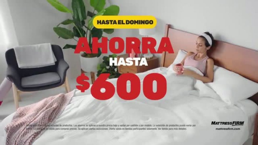 Mattress Firm Venta de Black Friday TV Commercial Ad Extendida manta pesada y colchón.mp4