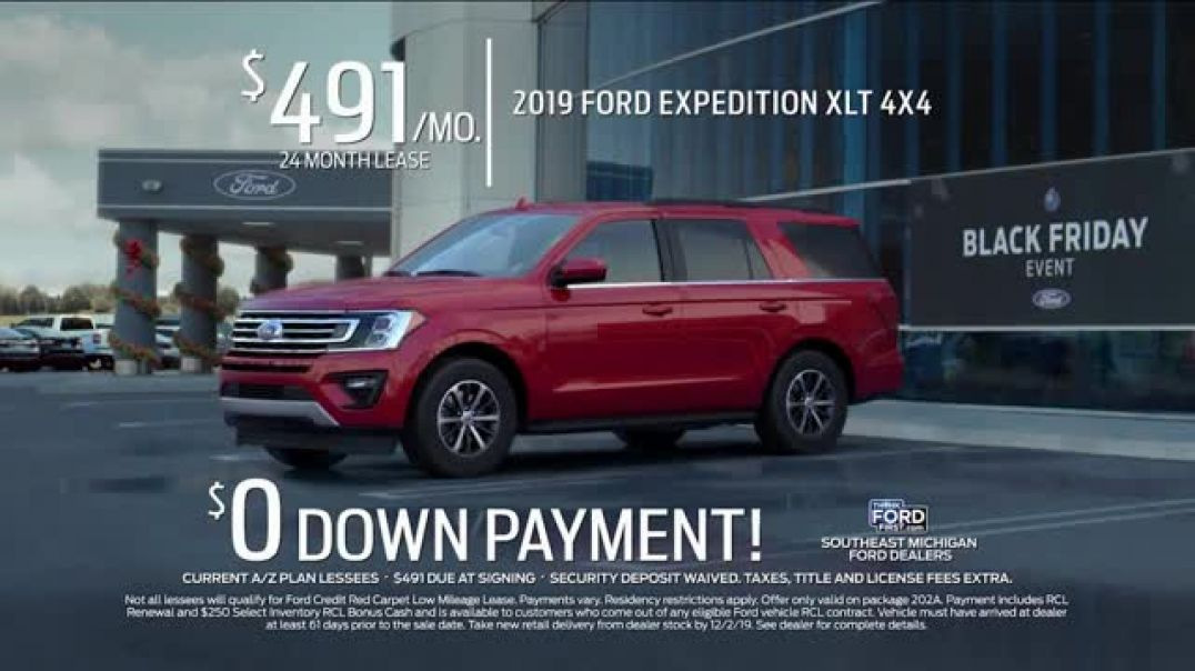 Ford Black Friday Event TV Commercial Ad The Season Is Here.mp4