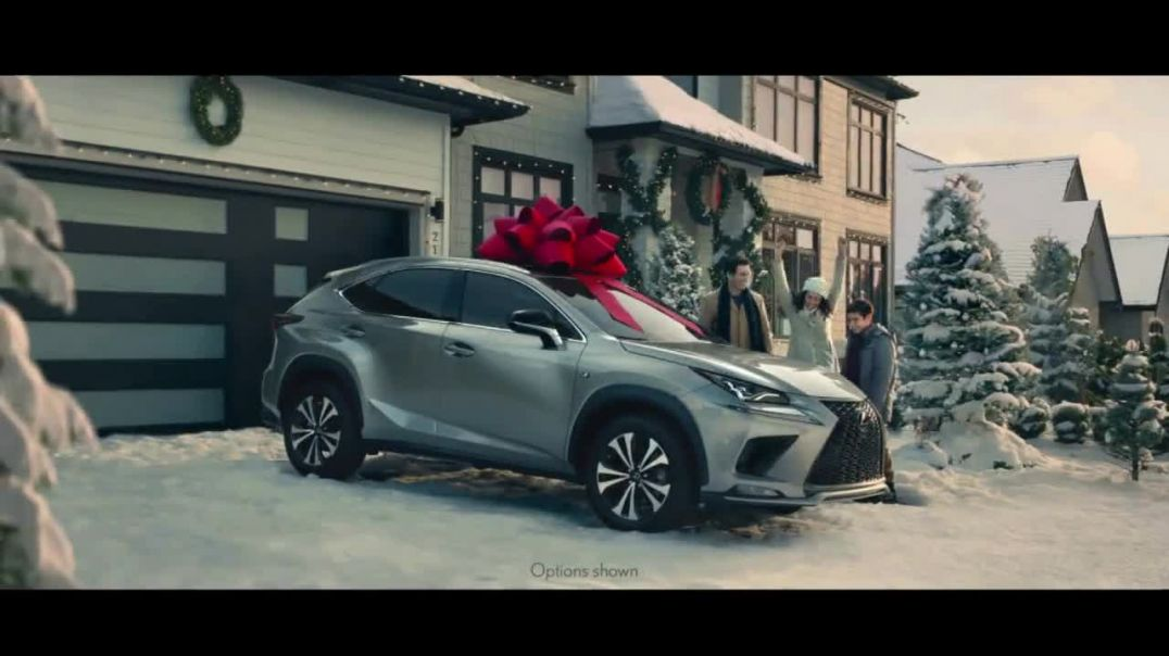 Lexus December to Remember Sales Event TV Commercial Ad The Bow CoverUp.mp4