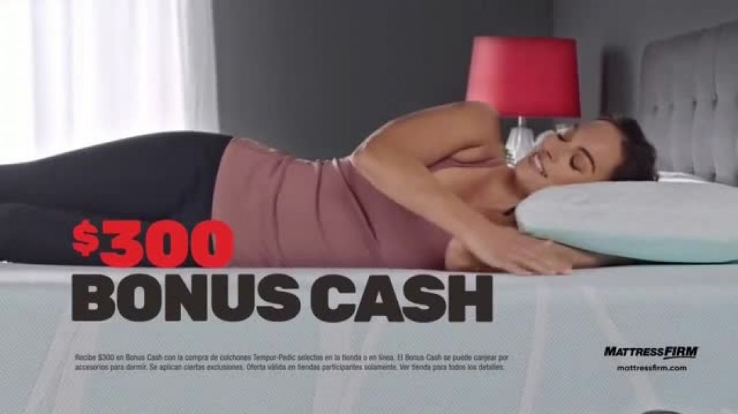 Mattress Firm Venta de Cyber Monday TV Commercial Ad Los colchones TempurPedic.mp4